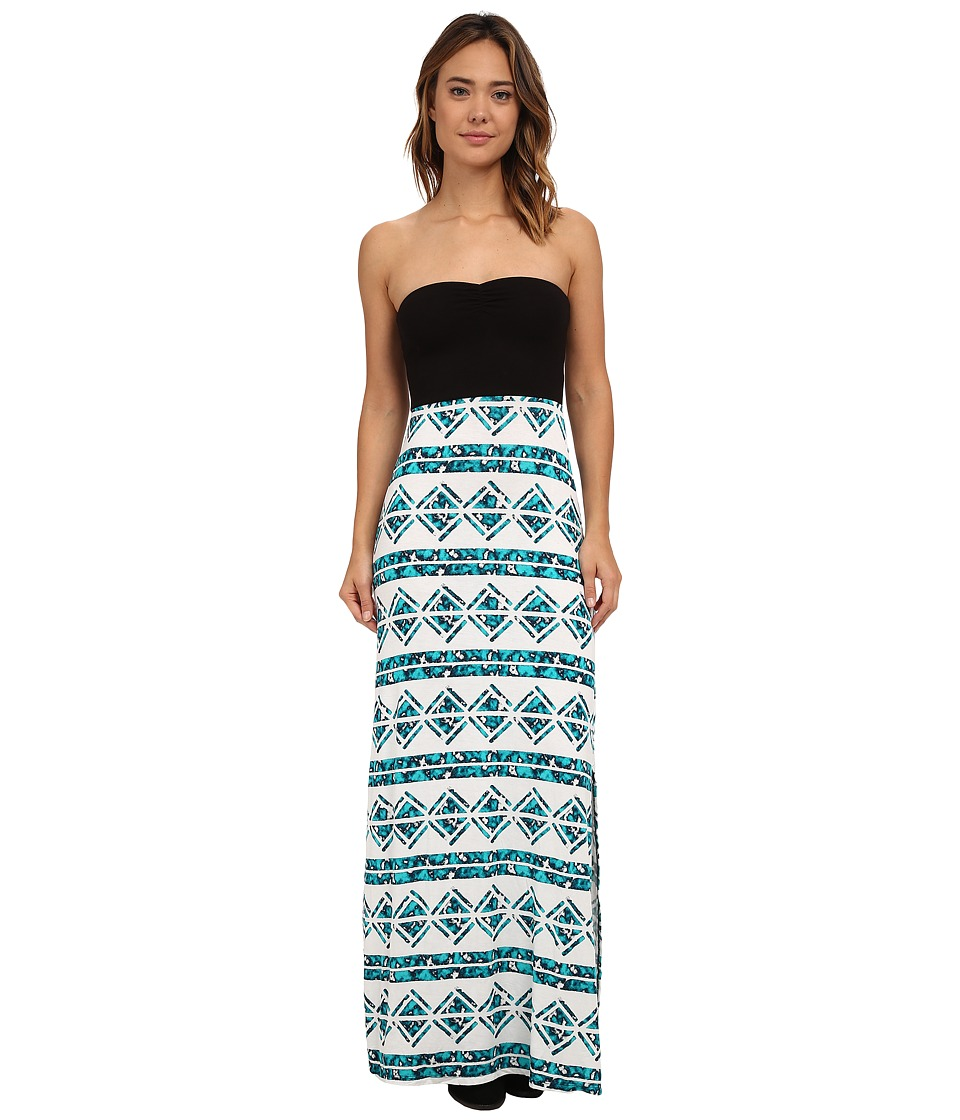 Hurley - Tomboy Maxi Strapless Dress (Radiant Emerald) Women's Dress