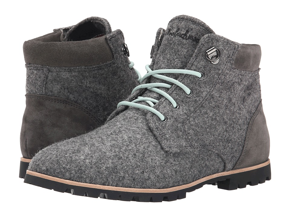 Woolrich - Beebe Wool (Ash Wool/Suede) Women's Lace-up Boots