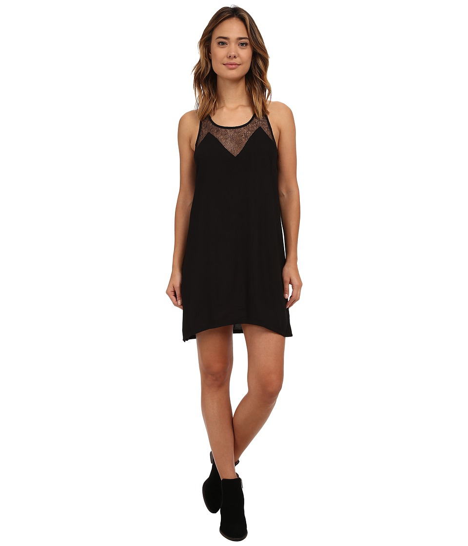 Hurley Solana Dress (Black) Women