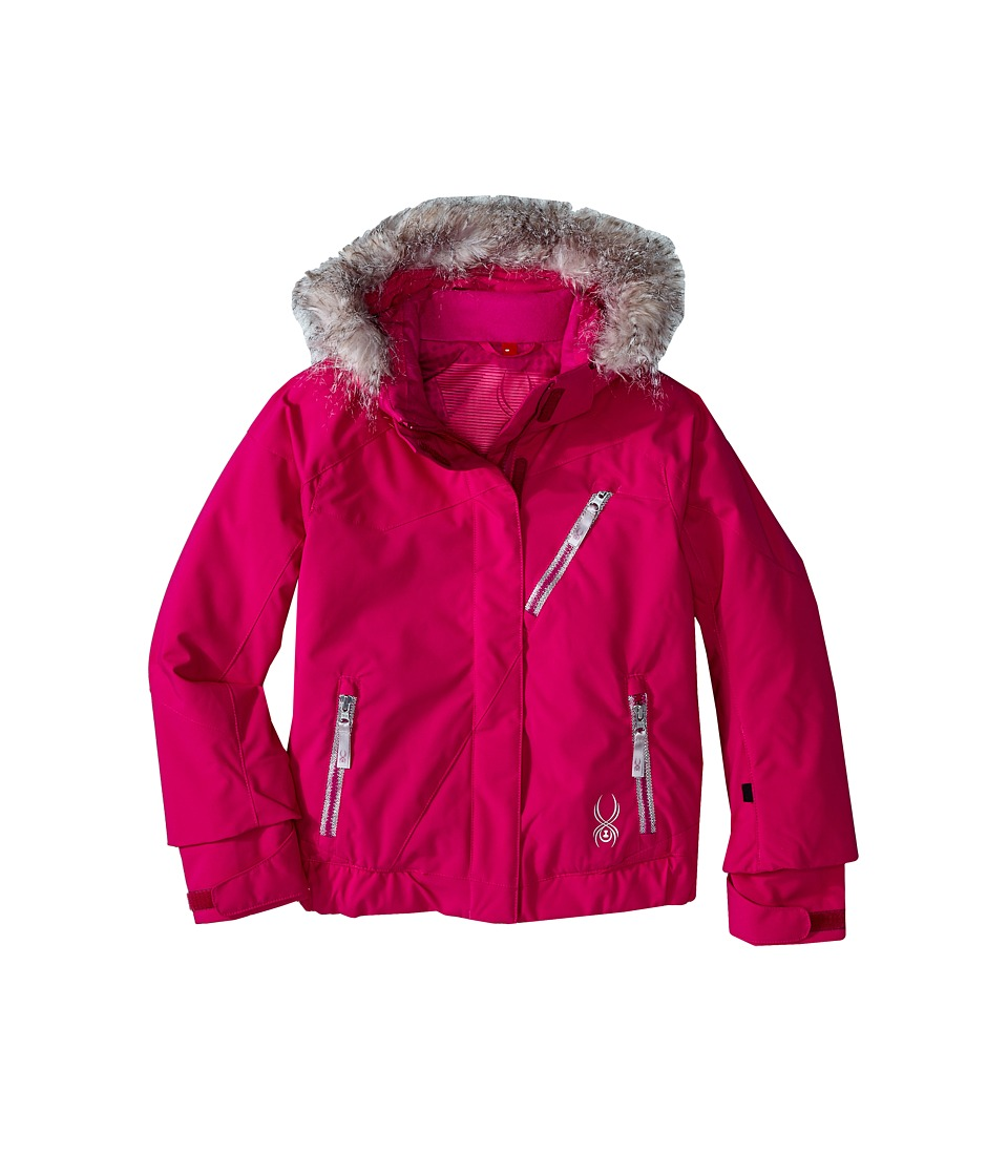 Spyder Kids - Lola Jacket (Big Kids) (Wild/Wild/Wild Diamond Print) Girl's Coat