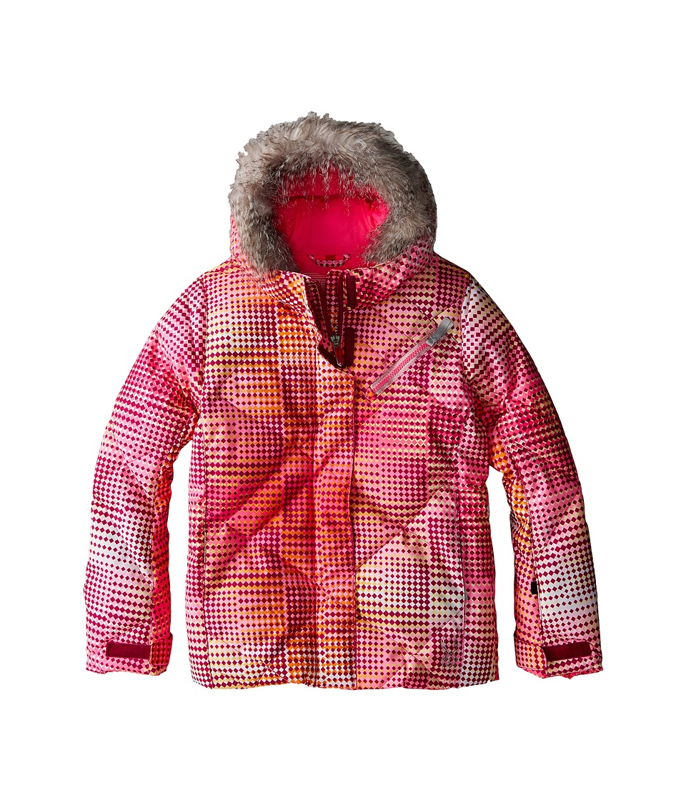 Spyder Kids - Hottie Jacket (Big Kids) (Wild Diamond Print/Bryte Bubblegum) Girl's Coat