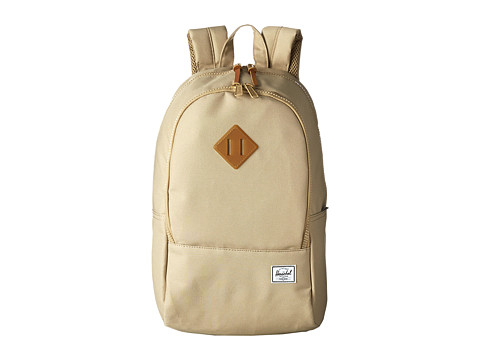 Herschel Supply Co. - Nelson Backpack (Khaki/Gum Rubber) Backpack Bags