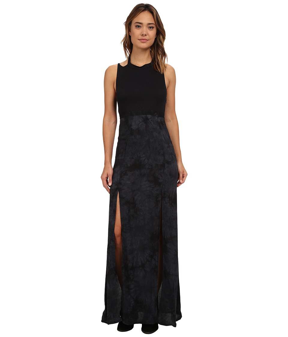 Hurley - Shelley Maxi Dress (Black) Women's Dress