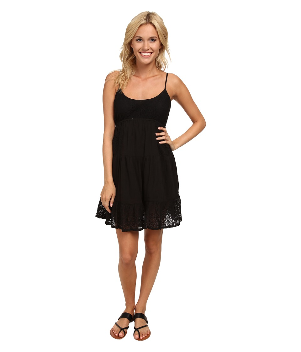 Rip Curl Dreamweave Gauze Dress (Black) Women