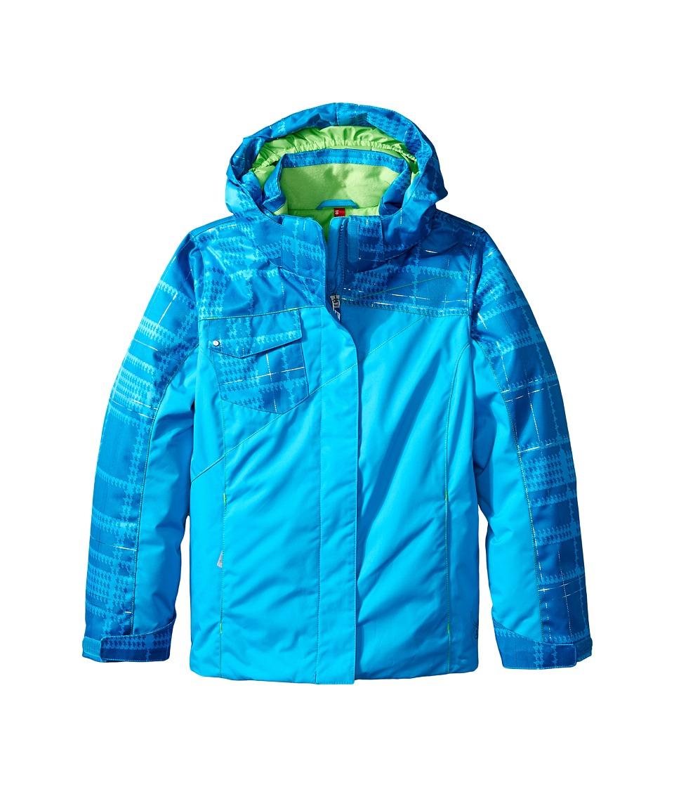 Spyder Kids - Dreamer Jacket (Big Kids) (Riviera/Riviera Check Plaid Print) Girl's Coat