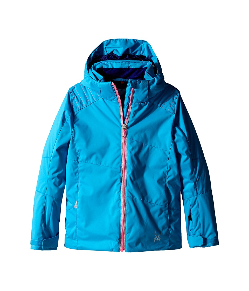 Spyder Kids - Glam Jacket (Big Kids) (Riviera/Bryte Bubblegum/Evening Vybe Print) Girl's Coat