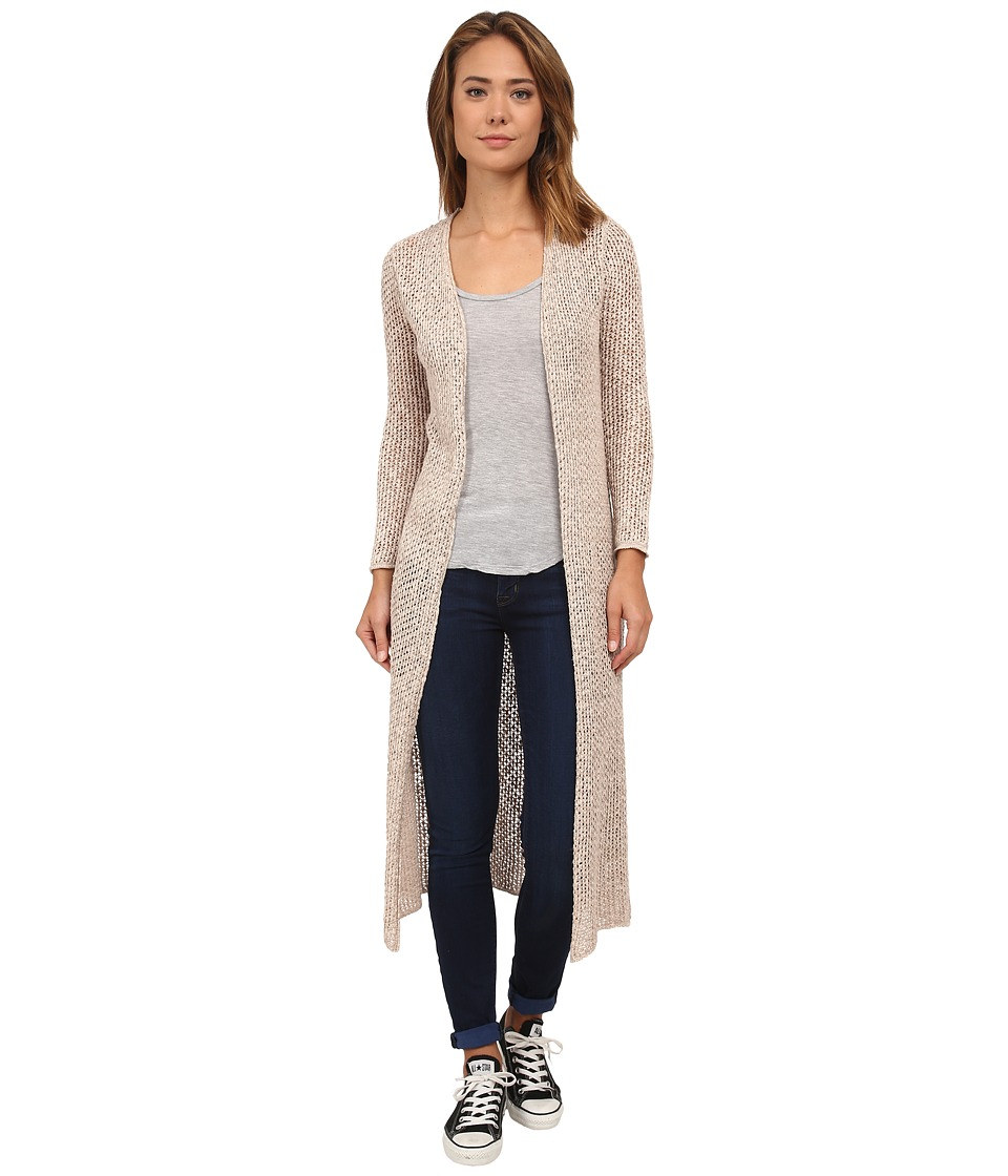 Billabong - Castaway Duster Sweater (Moonlight) Women