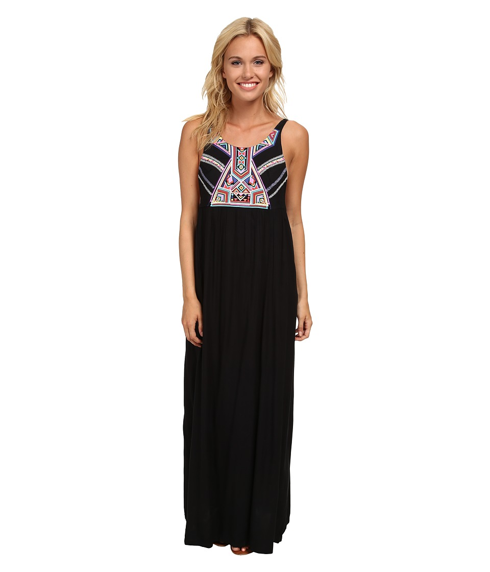 Rip Curl Nomadic Maxi Dress (Black) Women