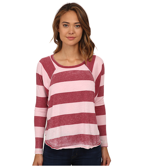 Billabong - See The Light Long Sleeve Pullover (Blush) Women