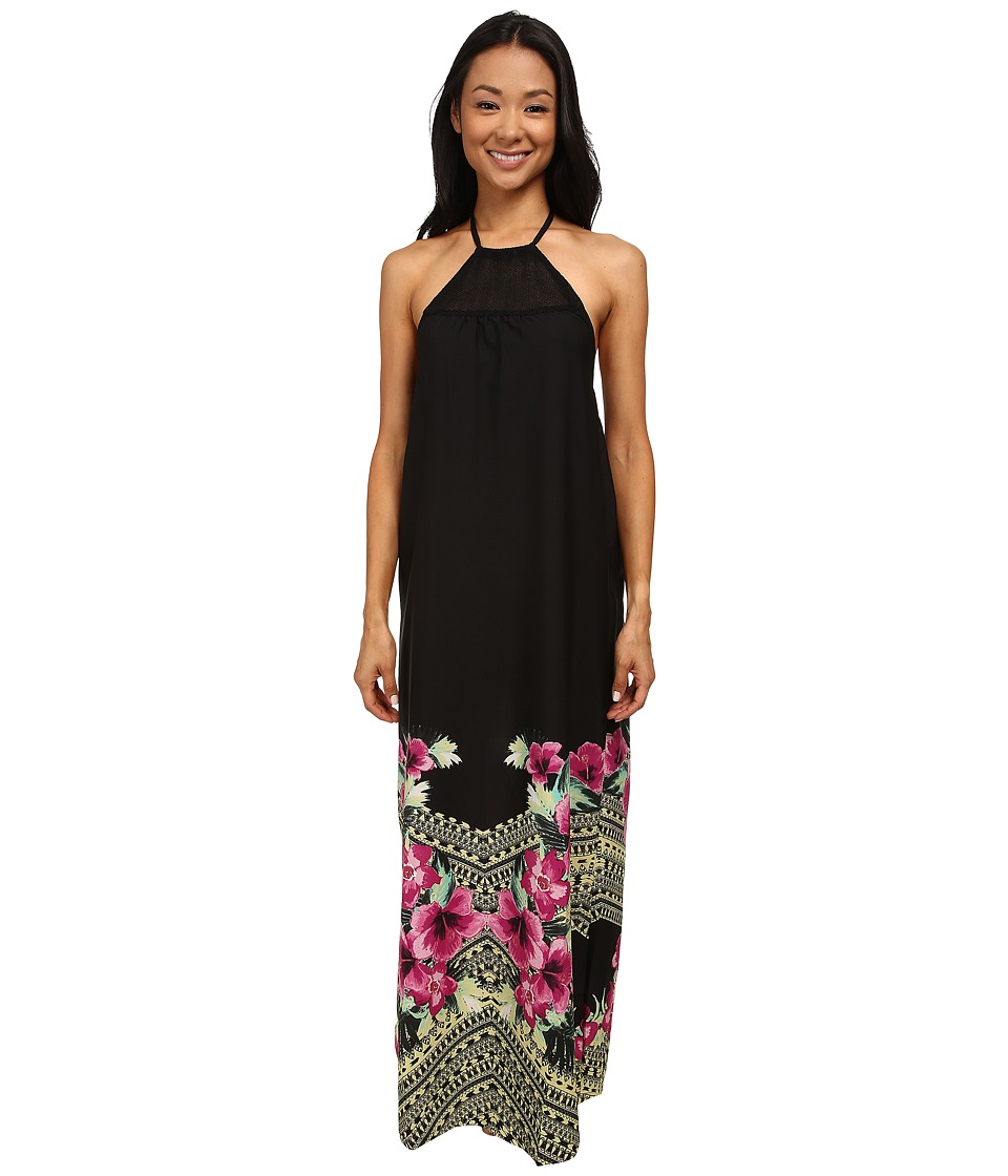 Rip Curl Spanish Garden Maxi Dress (Black) Women