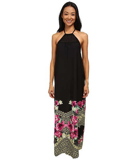 Rip Curl - Spanish Garden Maxi Dress (Black) Women's Dress