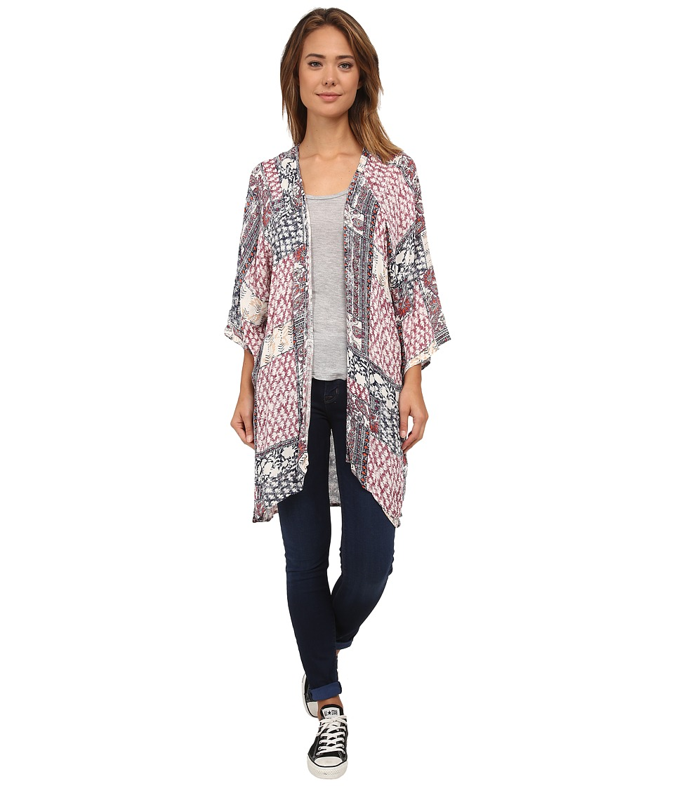 Billabong - Dazed In Luv Kimono (White Cap) Women's Clothing