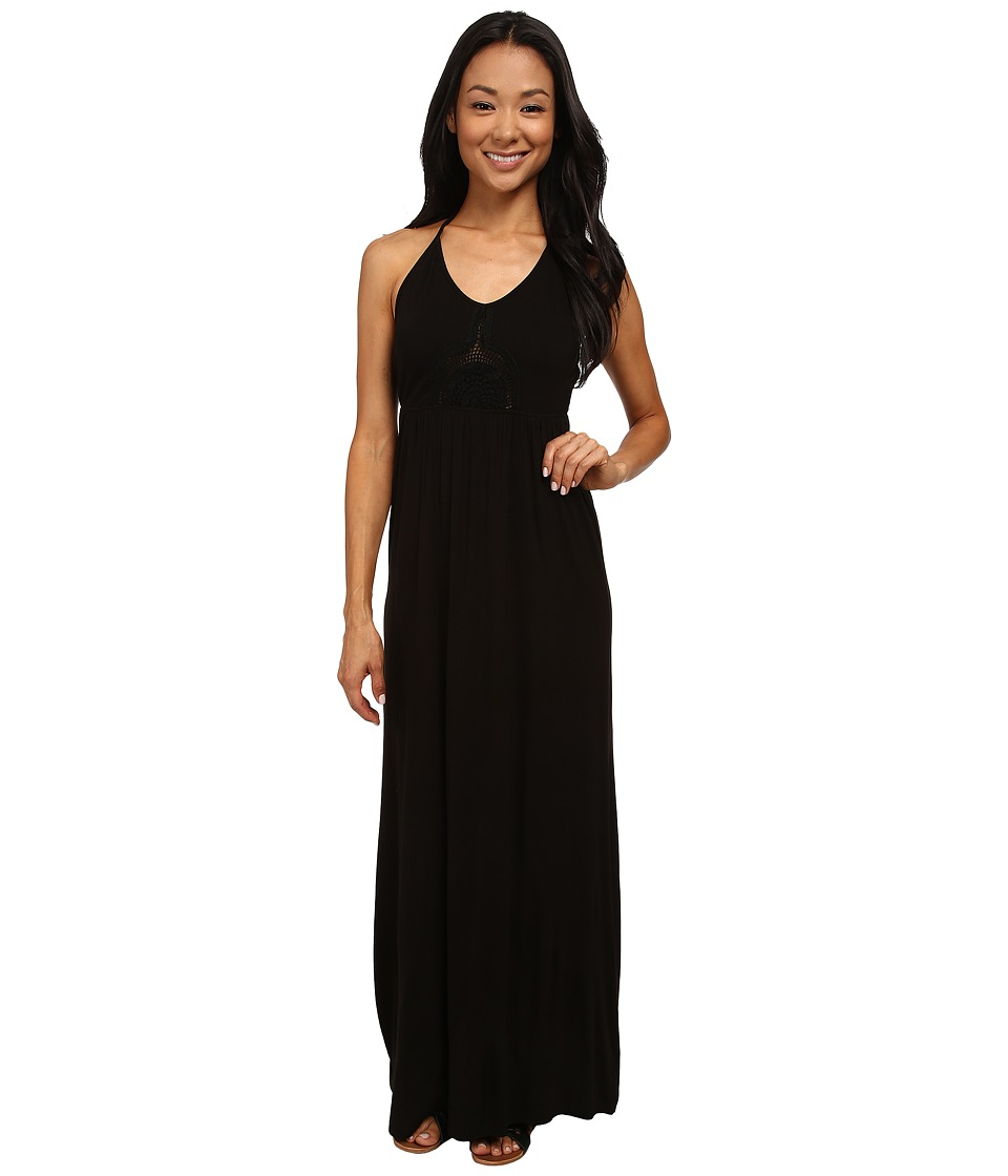 Rip Curl Painted Desert Maxi Dress (Black) Women