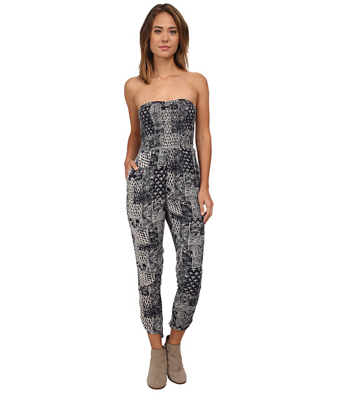 Billabong - By The Moon Romper (Midnight) Women's Jumpsuit & Rompers One Piece