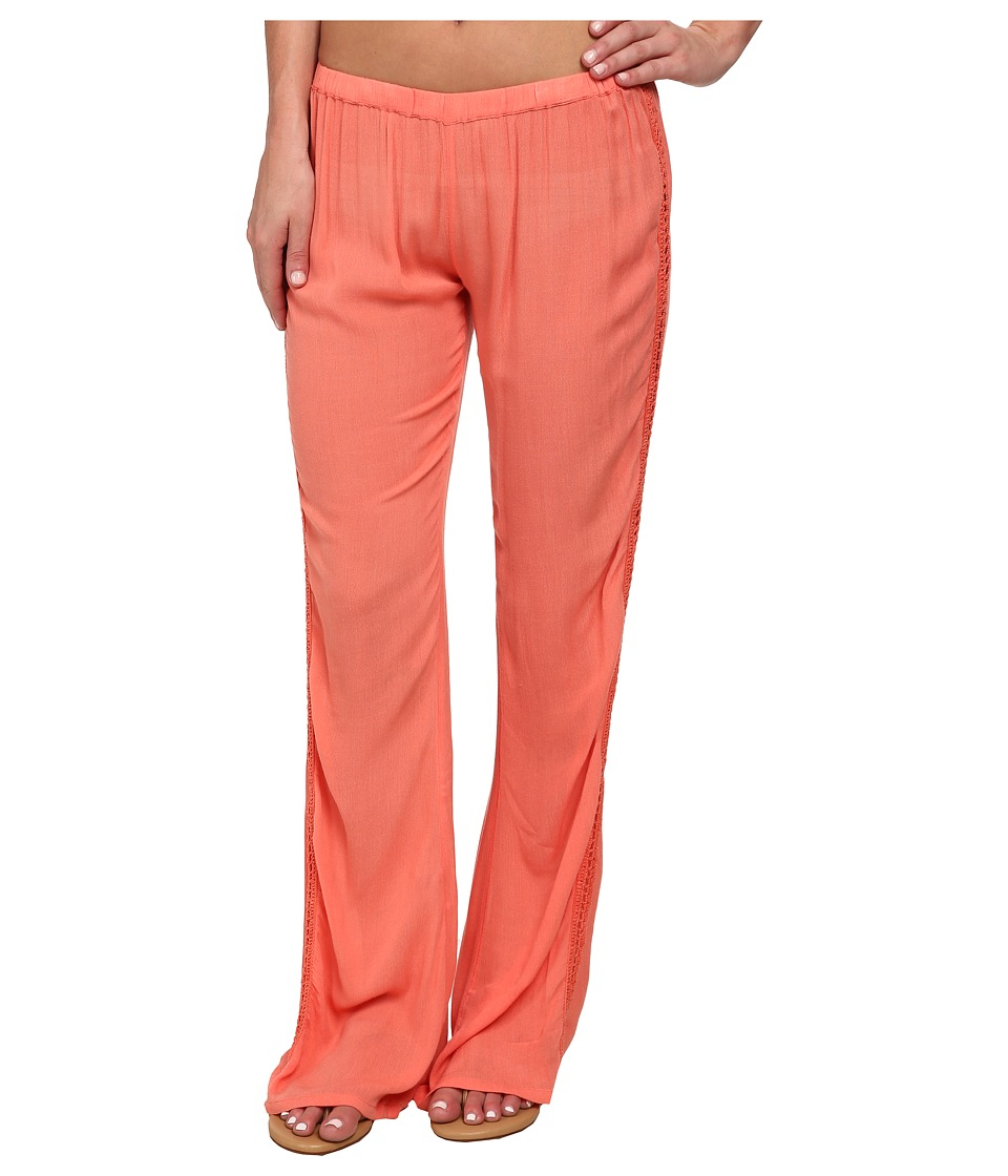 Rip Curl - Earth Angel Pants (Hot Coral) Women's Casual Pants