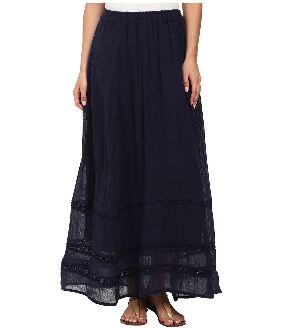 Billabong - Festival Sol Maxi Skirt (Midnight) Women's Skirt