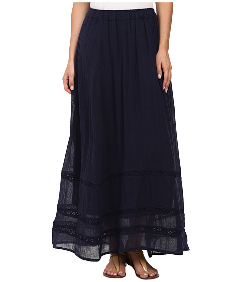 Billabong - Festival Sol Maxi Skirt (Midnight) Women's Skirt