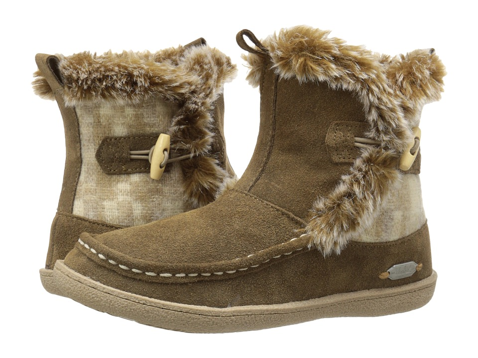 Woolrich Pine Creek (Chinchilla/Camo Wool) Women