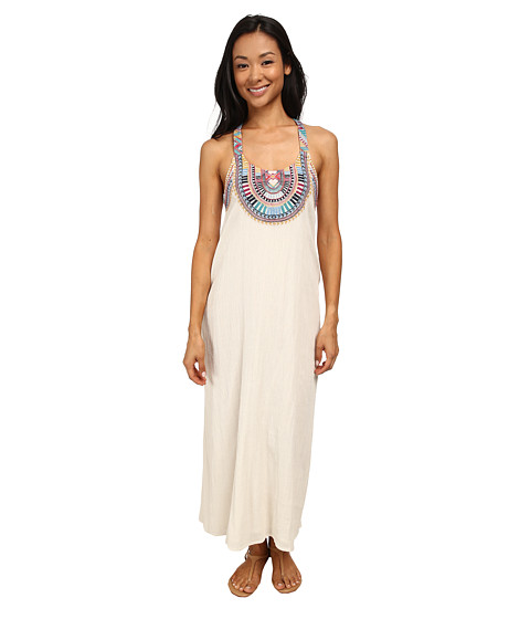 Billabong - Solar Sun Maxi Dress (White Cap) Women's Dress