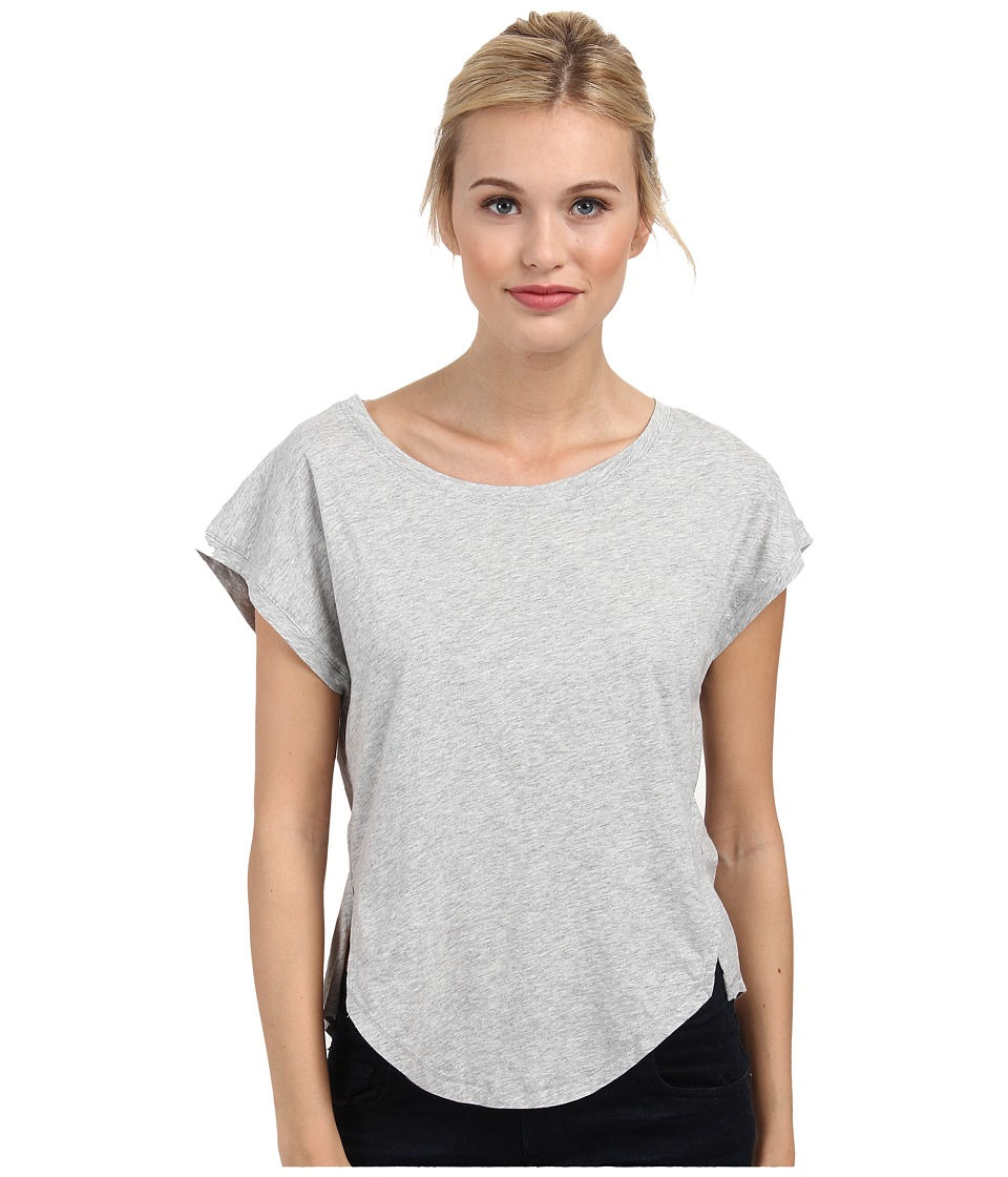 Alternative - Stand Out Tee (Heather Grey) Women's Short Sleeve Pullover