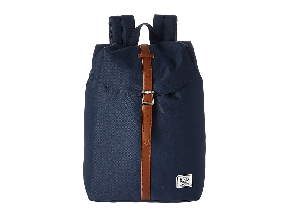 Herschel Supply Co. - Pop Quiz Mid-Volume (Navy) Backpack Bags