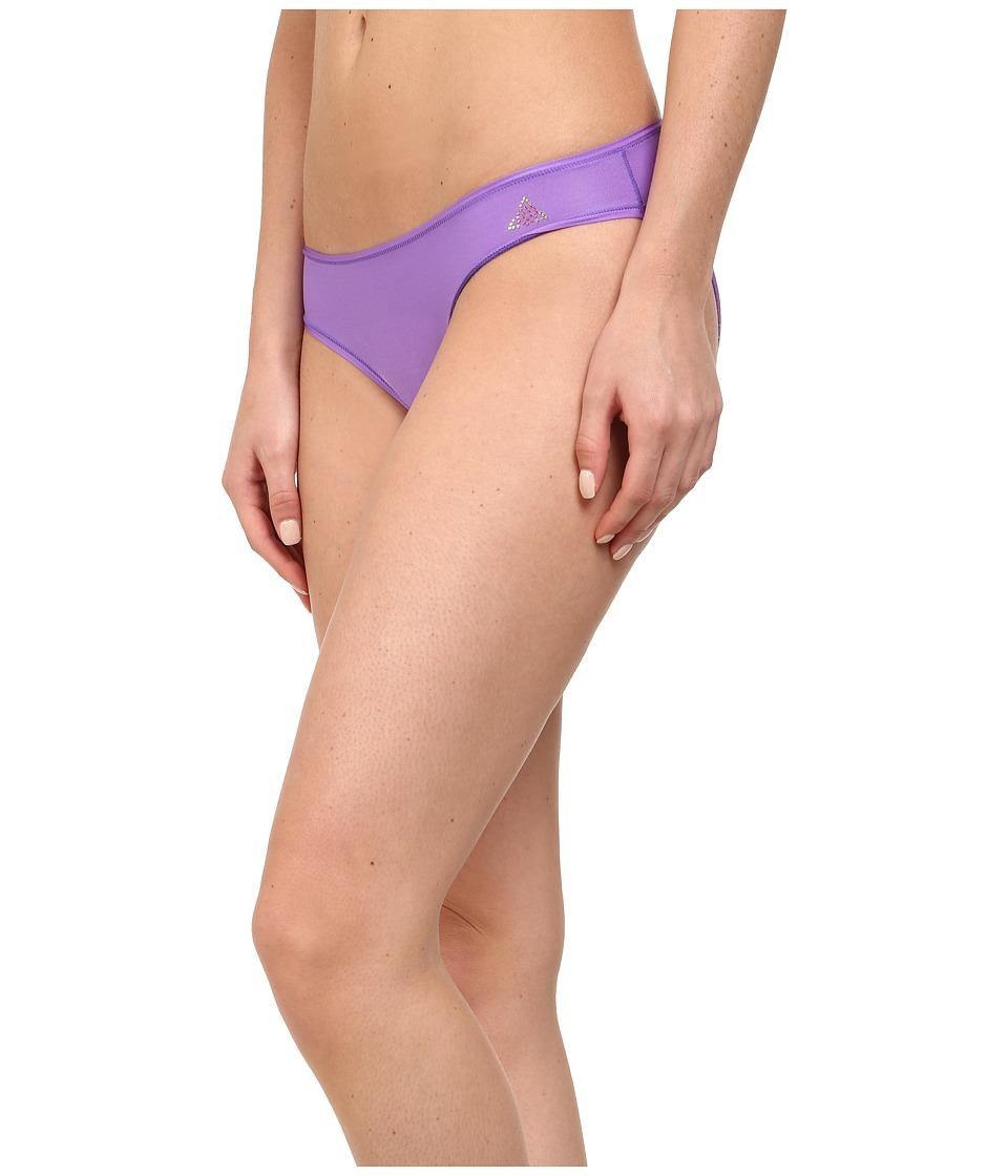 Betsey Johnson - Slinky Knit Ruched Back Bikini 721802 (Ultra Violet) Women's Underwear