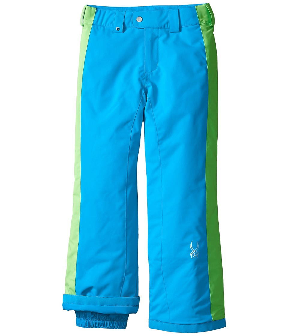 Spyder Kids - Thrill Athletic Pants (Big Kids) (Riviera/Green Flash) Girl
