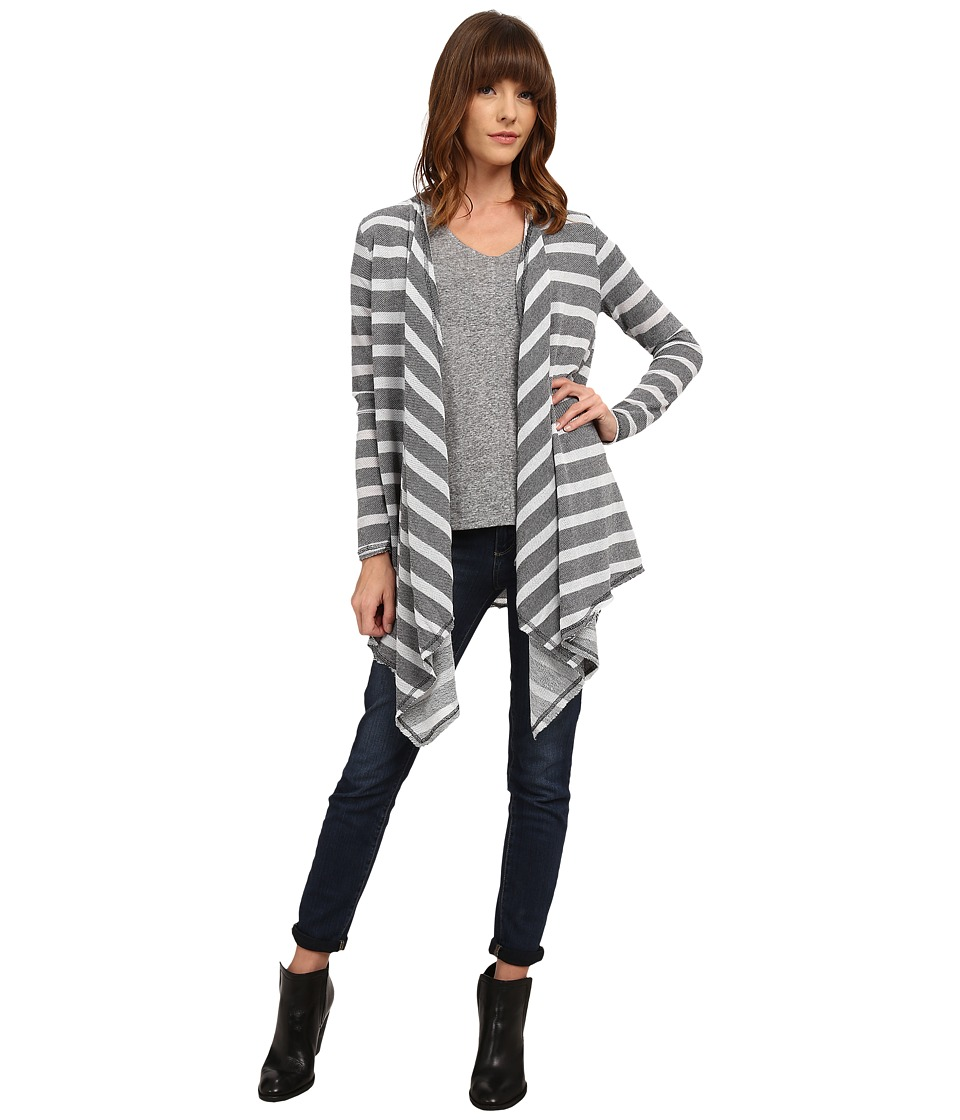O'Neill - Trade Wind Cardigan (Charcoal) Women's Sweater