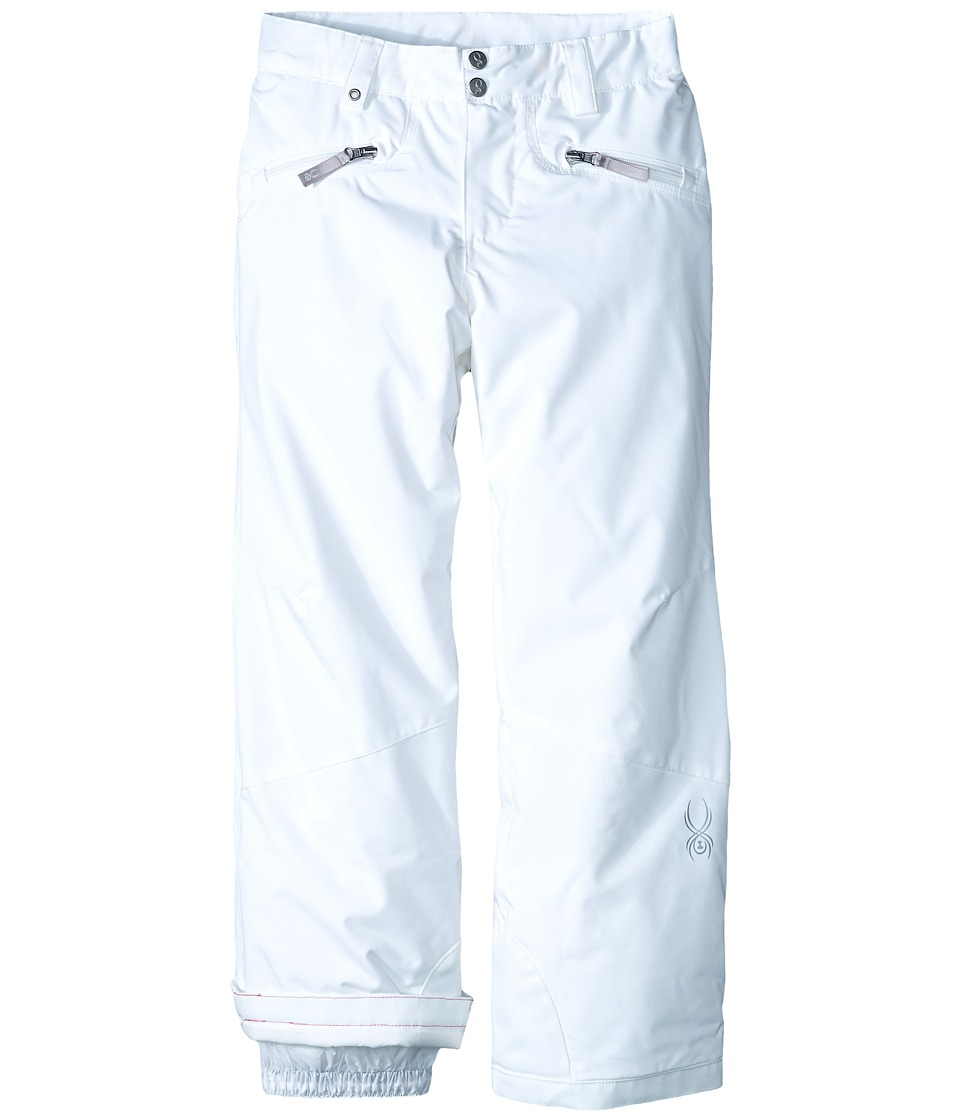 Spyder Kids - Vixen Athletic Pants (Big Kids) (White) Girl's Outerwear