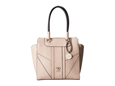 58303e7c197d ... UPC 885935711500 product image for GUESS Paxton Avery Satchel (Nude) Tote  Handbags