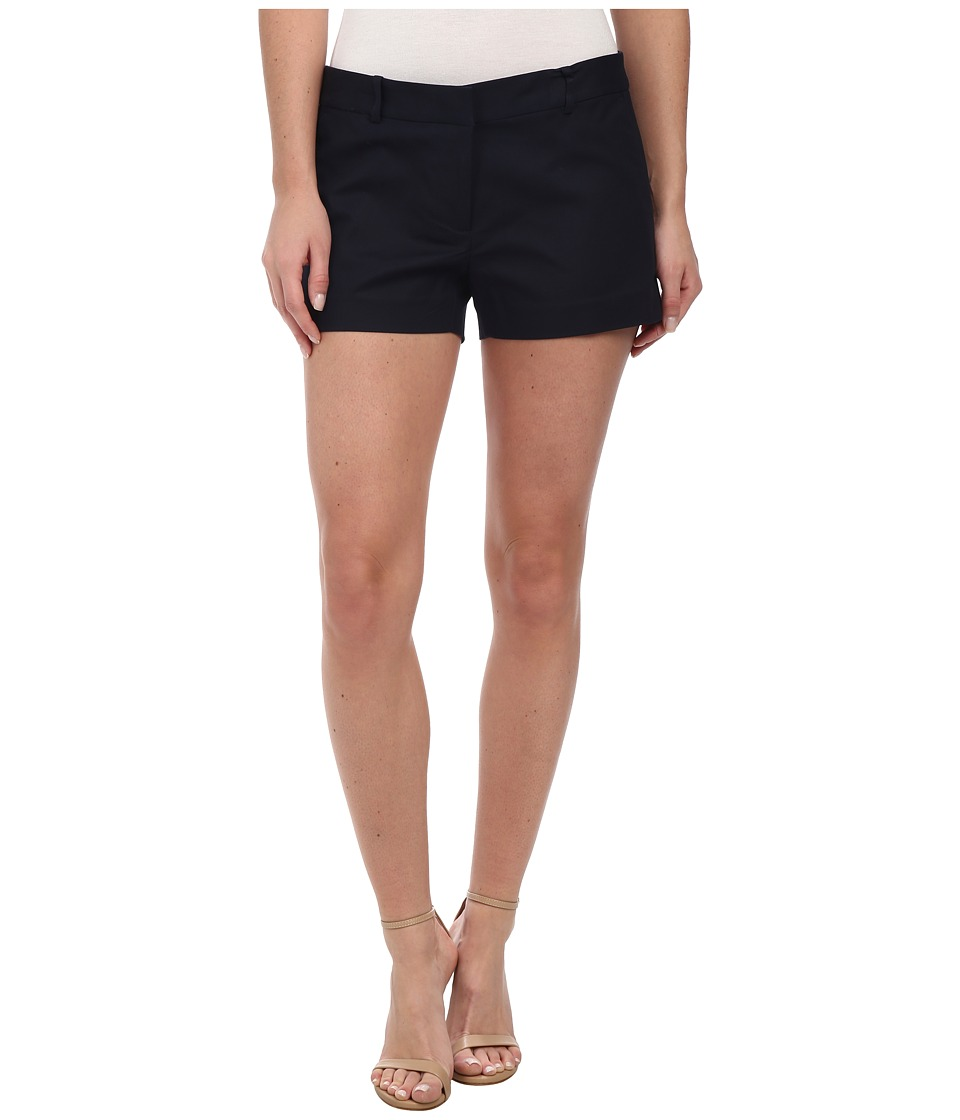 MICHAEL Michael Kors - Stretch Cotton Clean Min Shorts (New Navy) Women