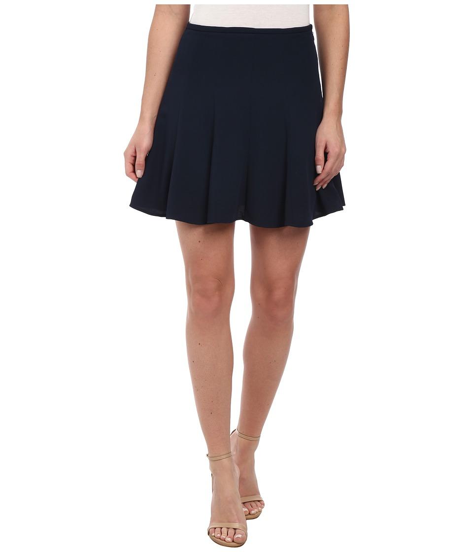 MICHAEL Michael Kors - Flare Skirt (New Navy) Women's Skirt