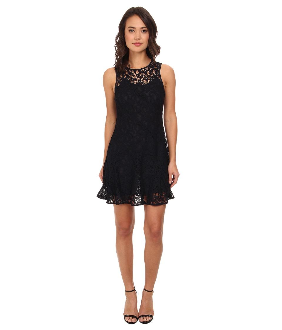MICHAEL Michael Kors - Sleeveless Godet Dress (New Navy) Women's Dress