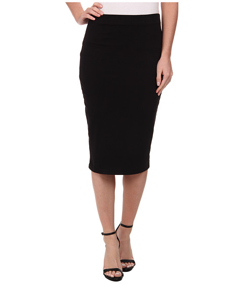 Three Dots - Pencil Skirt (Black) Women's Skirt