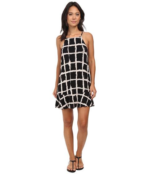 RVCA - Two Blocks Up Dress (Black) Women's Dress