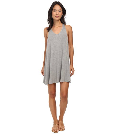 RVCA - Won Shot Dress (Heather Grey) Women's Dress