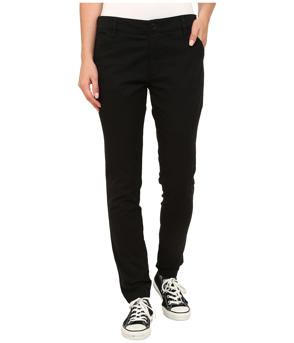 RVCA - Uplanded Pants (Black) Women's Casual Pants
