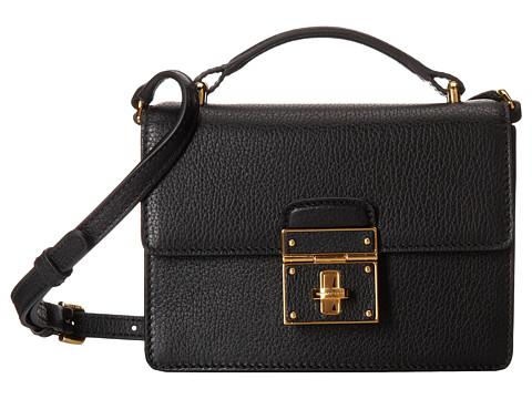 Dolce & Gabbana - Rosalia (Black) Satchel Handbags