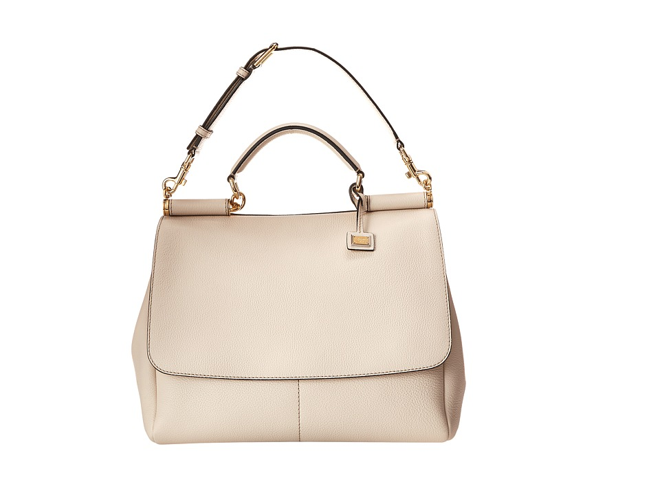 Dolce & Gabbana - Miss Sicily (Ivory) Satchel Handbags