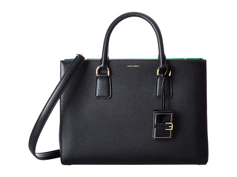 Dolce & Gabbana - Clara (Black) Satchel Handbags