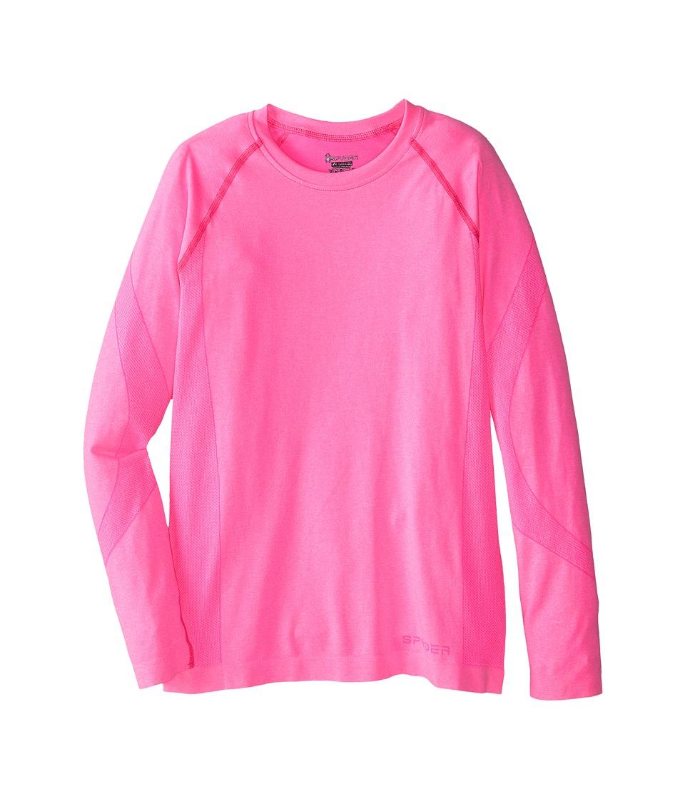 Spyder Kids - Cheer Top (Little Kids/Big Kids) (Bryte Bubblegum) Girl's Long Sleeve Pullover
