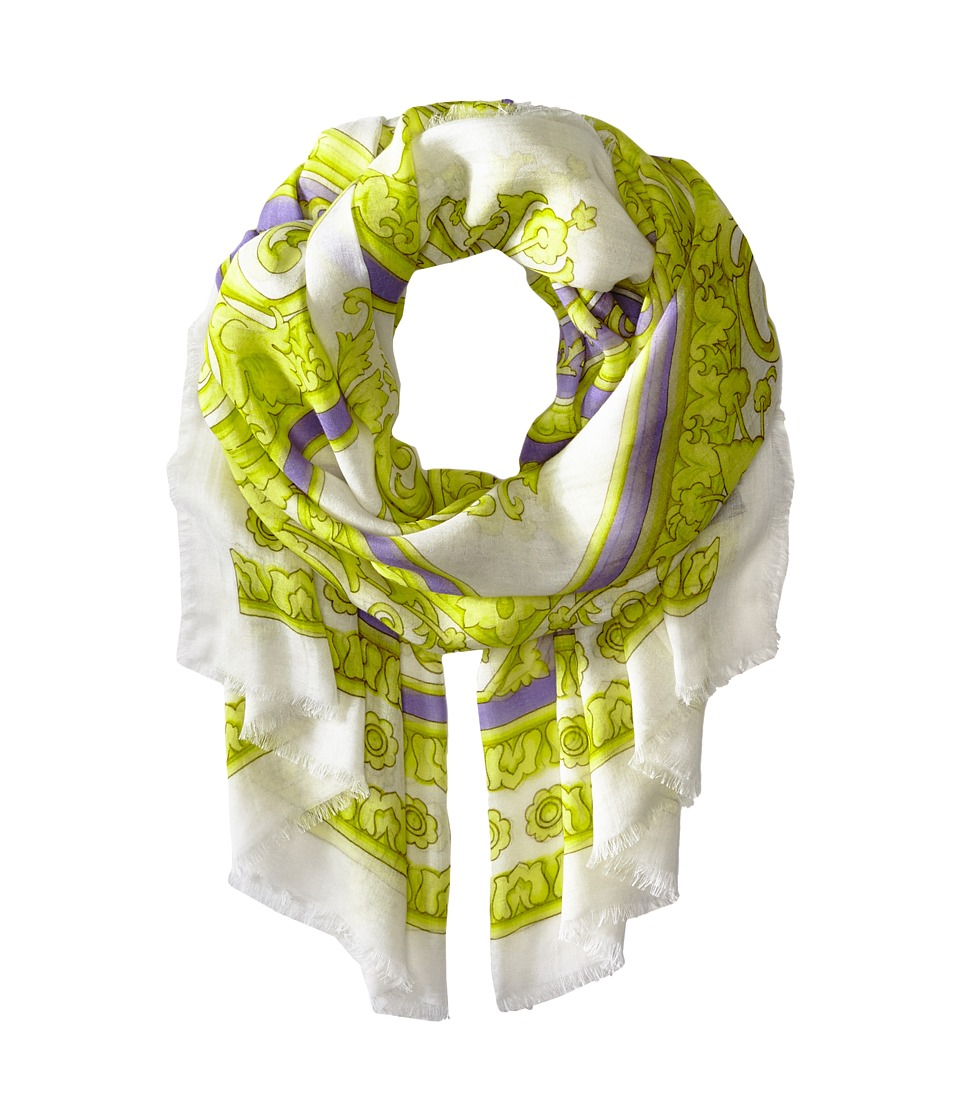 Versace Collection - SCE7MWB1105 (Neon Green) Scarves
