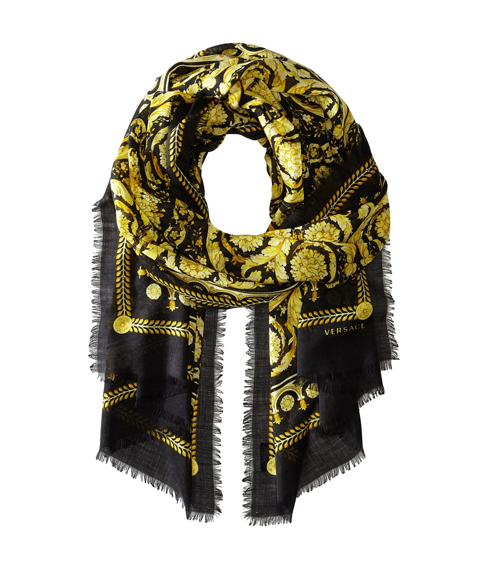 Versace Collection - SCD8CSB1107 (Black) Scarves