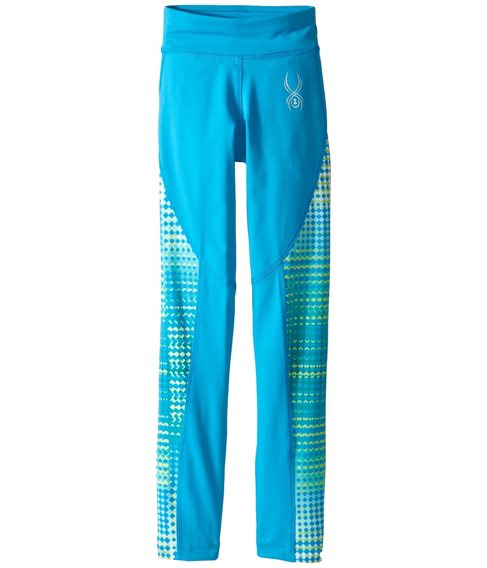Spyder Kids - Chatter T-Hot Pants (Little Kids/Big Kids) (Riviera/Riviera Diamond Print) Girl's Workout