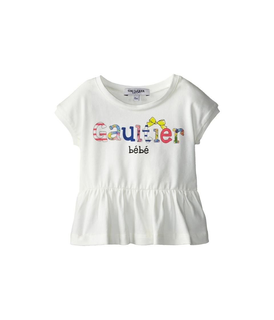 Junior Gaultier - Gaultier Bebe Peplum Tunic (Infant) (Ecru) Girl