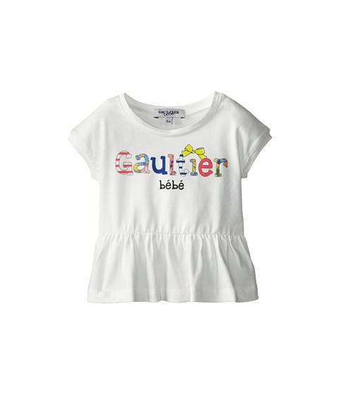 Junior Gaultier - Gaultier Bebe Peplum Tunic (Infant) (Ecru) Girl's Blouse