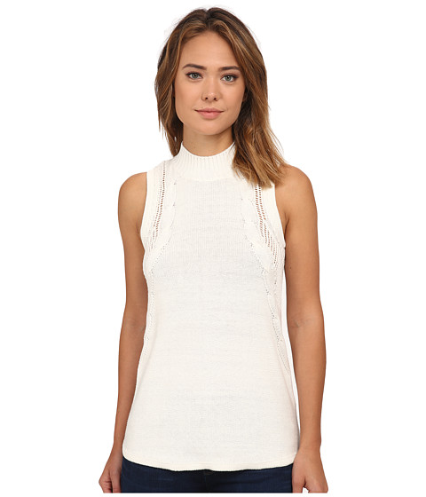 RVCA - Down Low Top (Vintage White) Women's Sleeveless