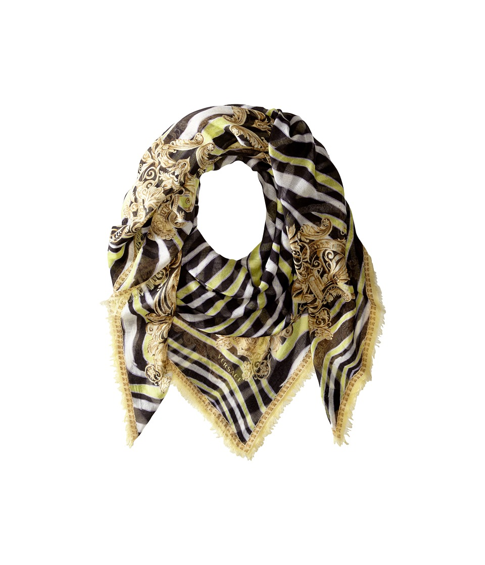 Versace Collection - SL08MWB1100 (Yellow) Scarves
