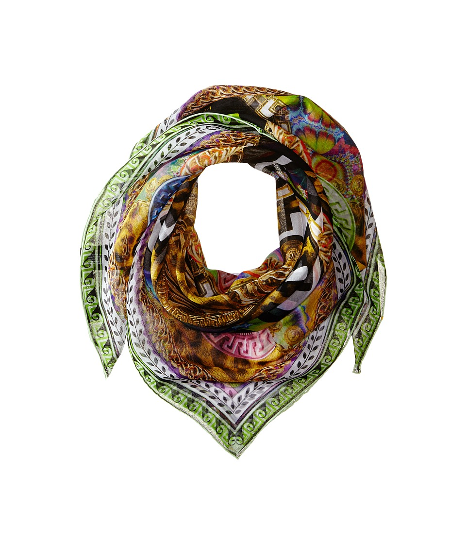 Versace Collection - FO05GEB0822 (Green) Scarves