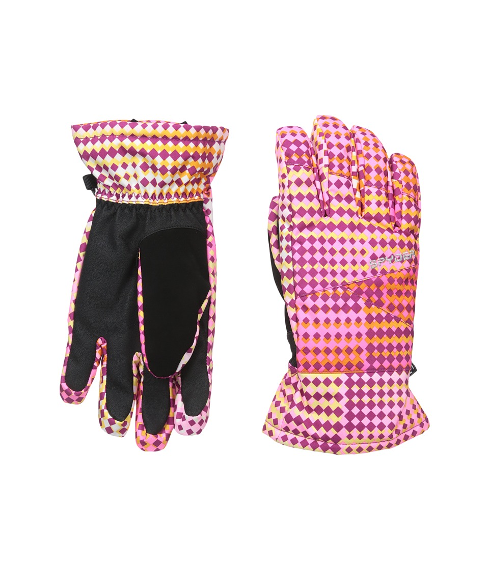 Spyder Kids - Astrid Ski Glove (Big Kids) (Wild Diamond Print) Ski Gloves